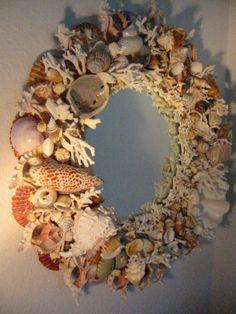 California Modernist Seashell Mirror – Designer Unique Finds