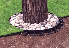 Great for mowinf & keeping mulch away from trunk which is bad. Landscaping around Trees   AROUND TREES