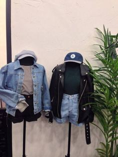 Display merch on a mannequin dressed with accessories like this