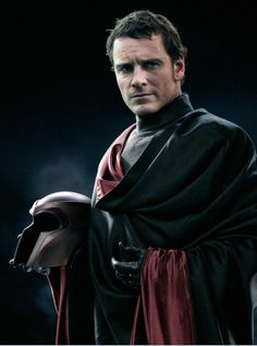 Michael Fassbender as Magneto. A villain has never looked sexier.  (This is probably fan-made).