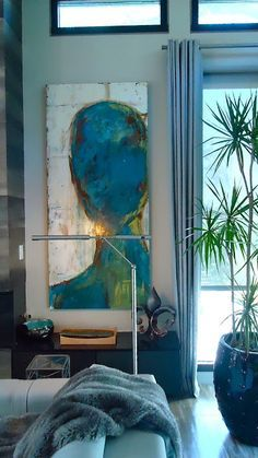 Mitchell Settoon Artist. Mod house in New Orleans, Donna Russell designer
