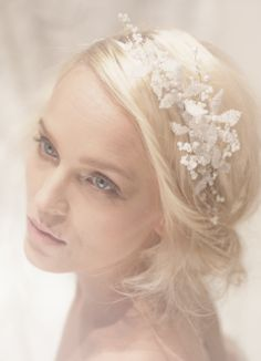 Bridal Hairstyles with Headpiece | Pin it 1 Like Image