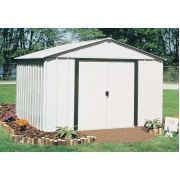 Metal Sheds - Metal Storage Sheds - Metal Garden Sheds - Metal Shed Kits Steel Storage Sheds, Steel Sheds, Diy Storage Shed, Outdoor Storage Sheds, Outdoor Sheds, Built In Storage, Outside Storage Shed, Backyard Storage, Backyard Sheds