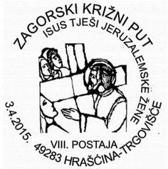 Sonderstempel Kroatien Ostern