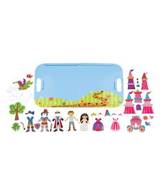 Another great find on #zulily! Stephen Joseph Magnetic Princess Play Set by Stephen Joseph #zulilyfinds