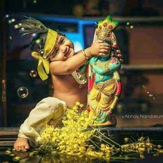 48215949 Krishna Images, Wallpaper, Photos, Pics, And Graphics Baby Krishna, Cute Krishna, Radha Krishna Love, Radha Krishna Quotes, Radha Krishna Pictures, Krishna Photos, Radhe Krishna Wallpapers, Lord Krishna Wallpapers, Vishu Images
