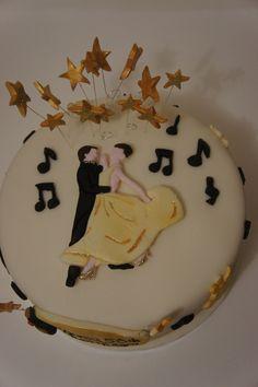 Ballroom Dancing Cake Cake Ideas and Designs