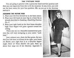 Lady Lessons • The Picture Pose