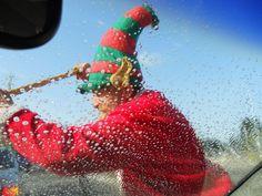 """Santa Claus Screen Cleaner"" :-)!  in Sydney/NSW/Australia"