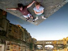 Upside down in Florence
