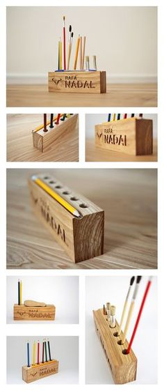 Wooden desk organizer, pen holder, pencil holder.  Top quality handmade desktop organizer. Made with a whole piece of real Ash wood. The organizer is coated with natural hard wax and environmentally friendly oil.