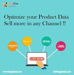 Learn how hundreds of clients use LeapFeed's feed management system to import, optimize, merge and enrich their product data so they can sell more.  #ProductDataFeedManagement #OptimizeProductData #sellmore #ecommerce Ecommerce, Data Feed, Software Development, Search Engine, Channel, Web Design, Management, Learning, Weaving