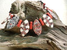 Fimo Collier hand made by kreakette Bracelets, Handmade, Jewelry, Fashion, Fimo, Nice Things, Jewerly, Nice Asses, Bangle Bracelets