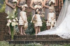 Flower Girl and Ring Bearer Ideas Wedding Inspiration Boards Photos on WeddingWire