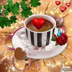 Good Morning Arabic, Good Morning Roses, Good Morning World, Good Morning Coffee, Good Morning Picture, Good Morning Good Night, Morning Pictures, Happy Weekend Quotes, Happy Birthday Wishes Cake
