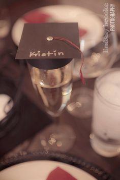 #DIY Champagne Flute Graduation Cap