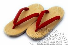 Today's feature product: Natural Womens Japanese Zori  Better known as thongs or flip-flops in the West, zori is a traditional Japanese slipper. These sandals are considered dressier than tatami sandals. Therefore, they are worn during special occasions.Facts and features :   • Vinyl foot bed   • Wedge-heel cushion with rubber soles   • Velveteen thongs  http://www.asianideas.com/wojazosa.html