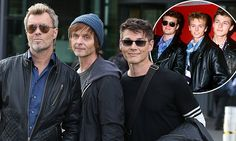 A-ha reunite 30 years after Take On Me