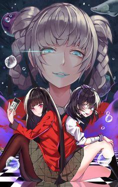 Yumeko Jabami by winterfeuille kakegurui Manga Anime, Anime Art, Kawaii Anime, Anime Neko, Animes Yandere, Girls Anime, Ecchi, Animation, Anime Life