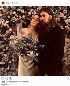 See lovely photos Miley Cyrus posing with her parents Tish and Billy Ray at her low-key wedding to Liam Hemsworth - NaijaDome Wedding Album, Wedding Pics, Wedding Ceremony, Dream Wedding, Wedding Day, Wedding Dresses, Wedding Flowers, Wedding Bouquets, Wedding Stuff