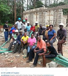 Brother's and Sister's Jehovah's Witnesses in Kenya, building their Future Kingdom Hall. We Love Our World-Wide Brotherhood UNITED by the Same Hope for a Better Future~Under Jesus Christ Heavenly Government...Daniel 2: 44.