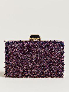 Lanvin Women's Miniature Embellished Hand Bag