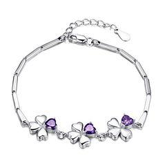 Elegant Silver And Crystal Women's Bracelet – SEK Kr. 546
