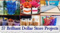 57 Brilliant Dollar Store Projects