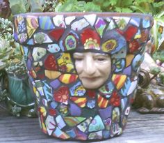 Mosaic On Pinterest Mosaic Art Mosaics And Planters For
