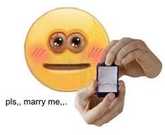 Images Emoji, Memes Lindos, Emoji Drawings, Funny Reaction Pictures, Emoji Faces, Cute Emoji, Funny Emoji, Cute Memes, Wholesome Memes