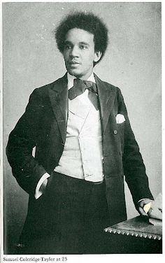 turn of the century composer - Samuel Coleridge-Taylor at 23