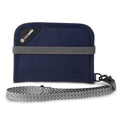 RFIDsafe V50 RFID blocking compact wallet
