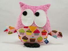 #owl #cupcake #pink #kids #forkids #baby
