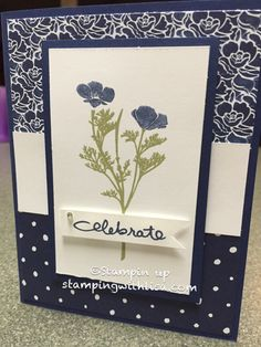 Hey everyone! Today I am sharing one of the cards I did in a recent class that was showing off the Floral Boutique designer paper. I was looking for stamp sets that went well with the paper and the…