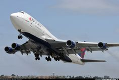 Delta Air Lines N670US Boeing 747-451 aircraft picture