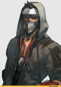 Genji (Overwatch),Overwatch,Blizzard,Blizzard Entertainment,фэндомы,Overwatch art,h@ge