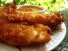 Coconut Crusted Chicken Recipe - #foodie #foodporn #recipe #cooking #recipes #MyBSisBos