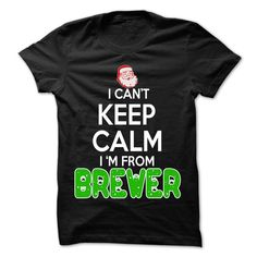 awesome Keep Calm Brewer... Christmas Time - 99 Cool City Shirt !