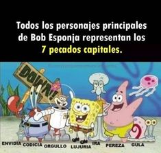 Happy 7th Birthday, Happy Birthday Candles, Birthday Name, Spongebob Square, Funny Video Memes, 9gag Funny, Disney Figurines, Spanish Humor, Funtime Foxy