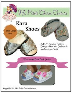 "KARA SHOES 18"" DOLL SHOES"