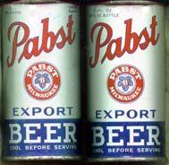 Pabst Export Beer
