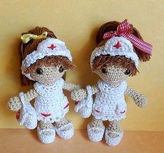 Crochet Nurse. free pattern