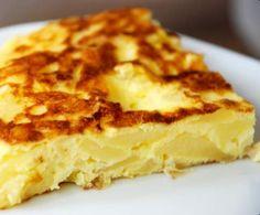 Recette Tortilla de pommes de terre par julow - recette de la catégorie Plat principal - divers