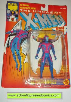 X-MEN X-Force toy biz ARCHANGEL ANGEL 1991 marvel universe moc mip mib action figures