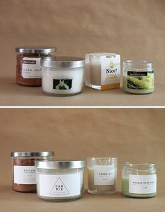 drugstore candle makeover | almost makes perfect. Fun, even if it's frivolous :)