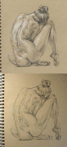 female body sketch