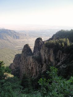 Sandia Mountains, La Luz Trail, Albuquerque, NM