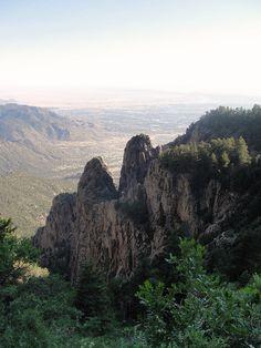 Sandia Mountains, La Luz Trail, Albuquerque, NM