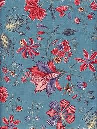 Sitsen Stoffen fabric. Beautiful with the pinks and reds.