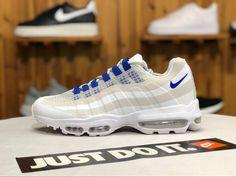 5e11e579578 Chaussures Homme Nike Air Max 95 Ultra SE White Blue Pas Cher